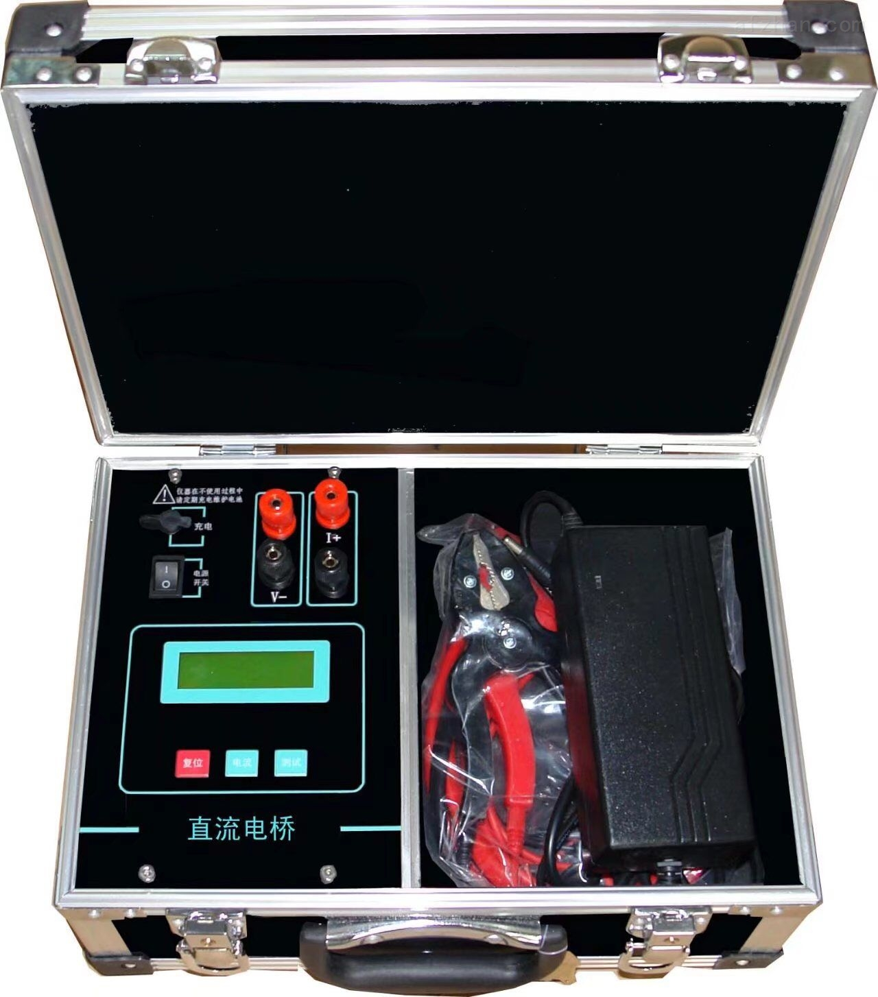 液晶直流电阻测试仪*
