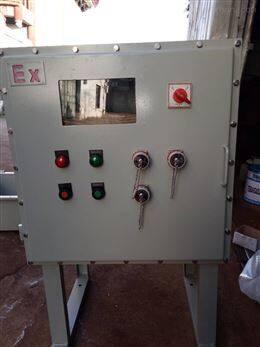 帶聲光報警器防爆控制箱