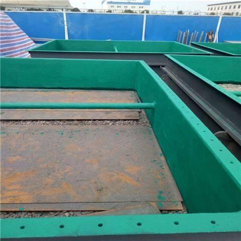 高温烟道防腐高温乙烯基玻璃鳞片胶泥施工技术要求