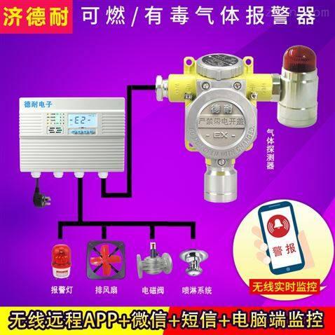 炼铁厂车间液化气气体浓度报警器,APP监控