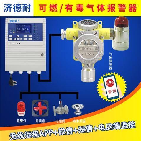 固定式氧气气体探测报警器,APP监测
