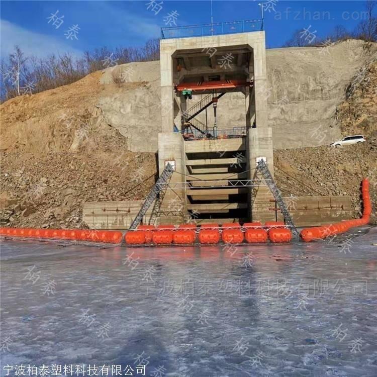 水电站水域拦污浮体