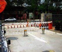 盾标液压隔离桩 半自动升降路桩 伸降柱路障