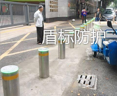 直径219加强型液压升降柱阻车桩路障现货