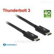 40Gbps2米Thunderbolt3雷电3数据线