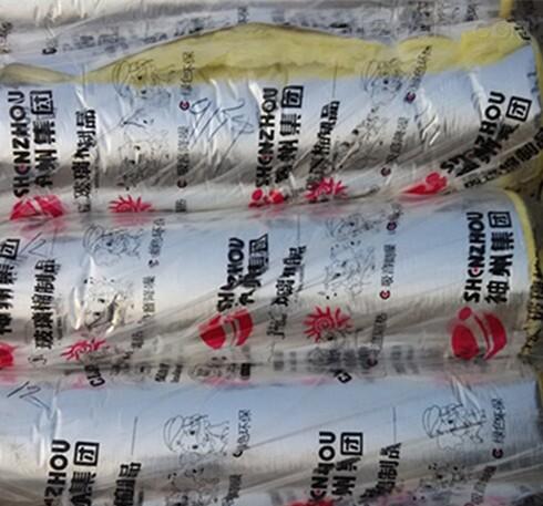 订做神州金猴玻璃棉保温材料 贴铝箔保温毡