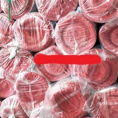 标准尺寸国标红色玻璃丝棉毡多少钱一平米