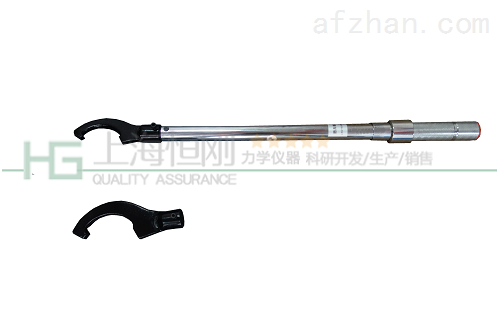 拆装螺杆压缩机圆螺母的勾型头预置力矩扳手