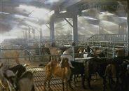 重慶養殖場大棚降溫加濕噴淋噴霧系統