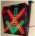單面600紅叉綠箭二合一車道燈
