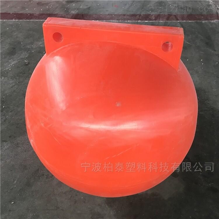 宁波直径60cm塑料浮球 海上警示浮球厂家