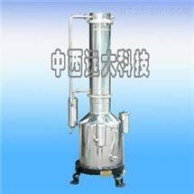 M327448不锈钢电热蒸馏水器 型号:DD-DZQ130-100