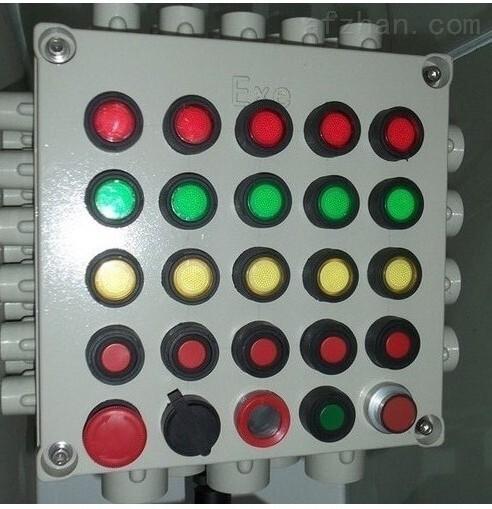 铸铝防爆按钮箱600*500