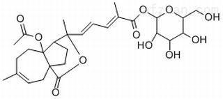 土槿皮甲酸-O-β-D-葡萄糖苷