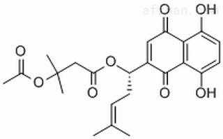 β-乙酰氧基异戊酰阿卡宁