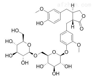"""罗汉松树脂酚-4'-O-β-龙胆二糖苷"""""""