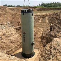 安徽一体化雨水提升泵站安装