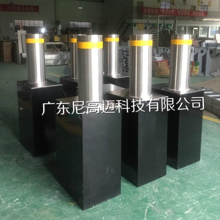 广州水厂手动路桩 按钮开关阻车器
