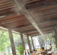 餐廳噴霧降溫消毒霧化造景工程