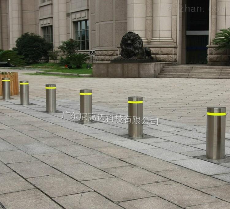 气动液压机械式升降柱,手动伸缩路障柱