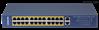 24口百兆下联千兆上联PoE交换机