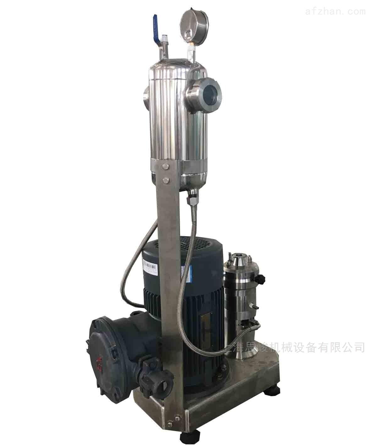 溶胶定转子剪切高速研磨机