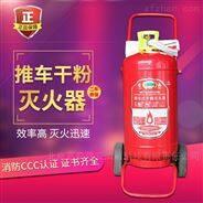 推车式灭火器 北京干粉二氧手推车灭火设备