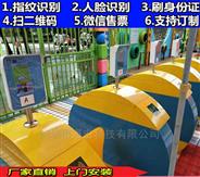 幼兒園閘機刷卡抓拍人臉識別接送門禁系統