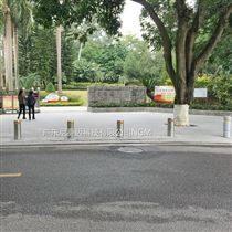 广州天河黄浦花都手动升缩挡车地柱