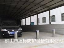 广西停车场大门防撞路柱 遥控升降阻车桩