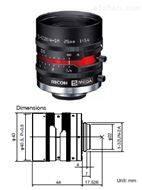 理光500萬像素2/3英寸25mm工業鏡頭