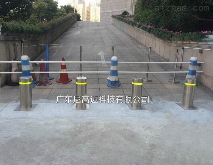 道路阻断可控式全自动升降柱地桩