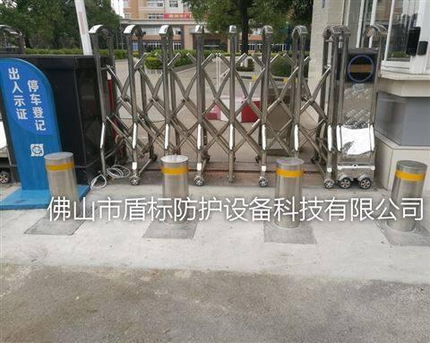小学门口安全防护桩-辽宁升降防撞柱路桩