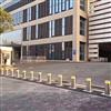 NGM会展中心自动升降车挡 不锈钢伸缩立柱