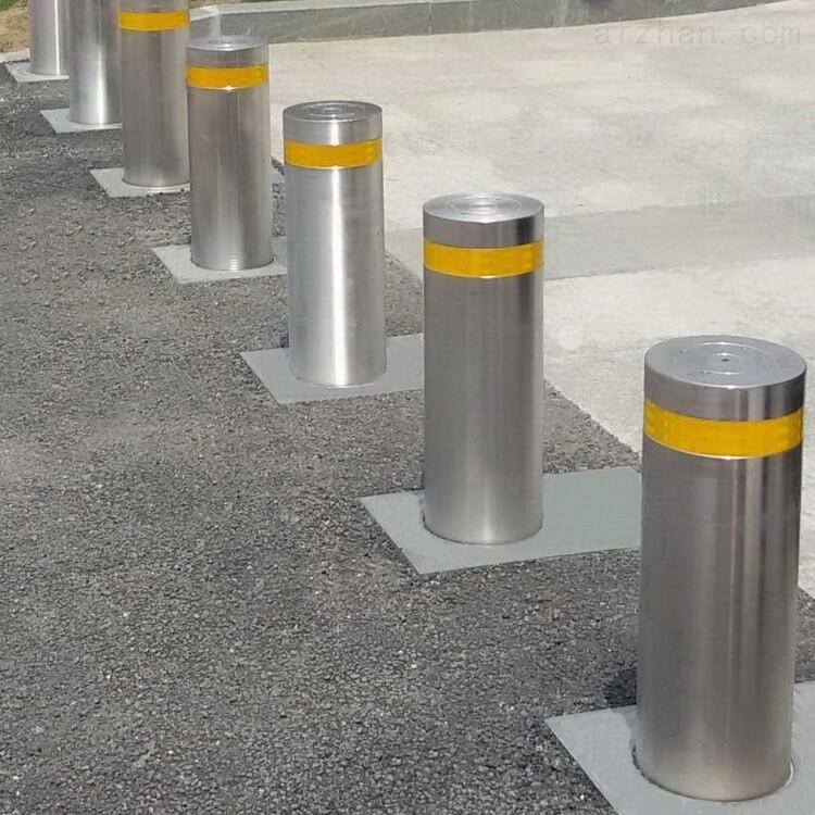 广州院校防恐阻车自动升降柱 不锈钢伸缩桩