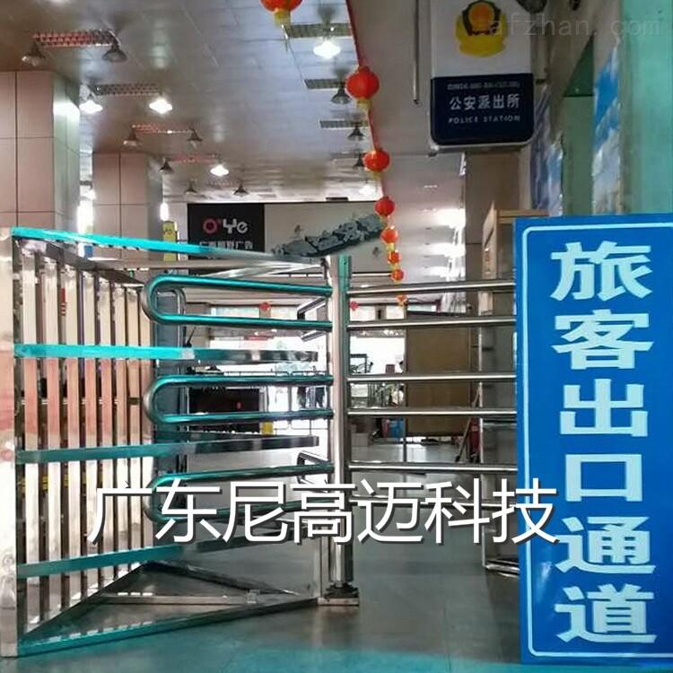 沧州车站单向半高转闸门