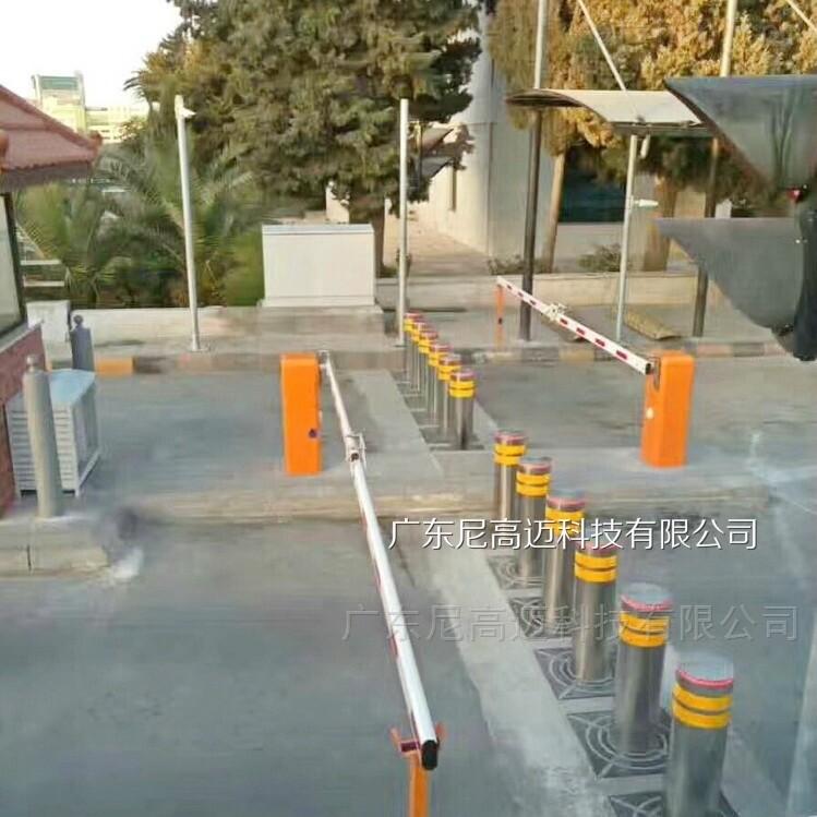 自动液压一体式升降路桩