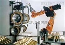 鎂合金壓鑄件打磨機器人,自動去毛刺設備