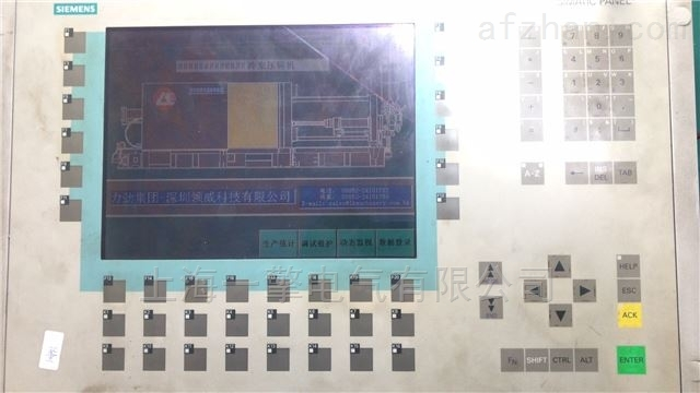 苏州西门子停产屏OP270按键不灵维修