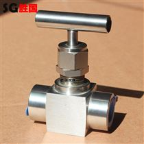 胜国不锈钢承插焊高压针阀 高温焊接针型阀