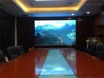 安装10平方展厅P1.25LED全彩电子屏含税价