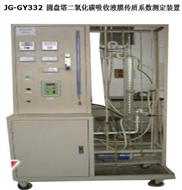 圓盤塔二氧化碳吸收液膜傳質系數測定裝置