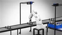 3D视觉工业零件上下料