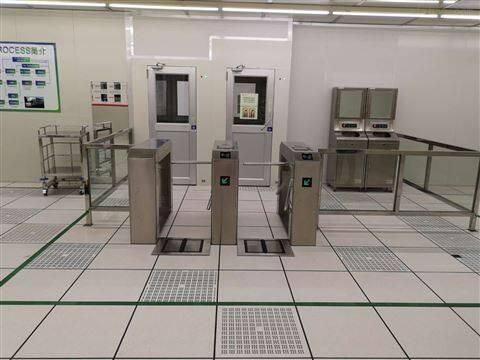 静电测试仪配套ESD三辊闸门禁通道