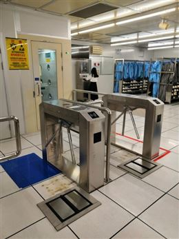 员工刷卡闸机通道摆闸翼闸通道智能ESD系统