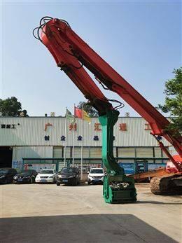 太原挖掘机专业PC-400打桩臂专业快速