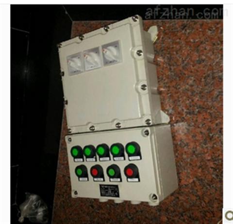 帶儀表觀察窗防爆電控箱