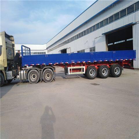侧翻自卸车集装箱运输特种低平板出口规格