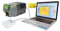 供应小区PVC卡式出入证打印机