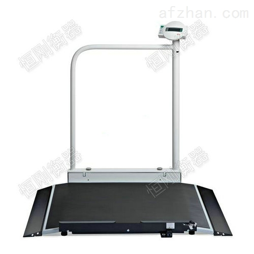200公斤碳钢轮椅秤 吴江医院轮椅磅